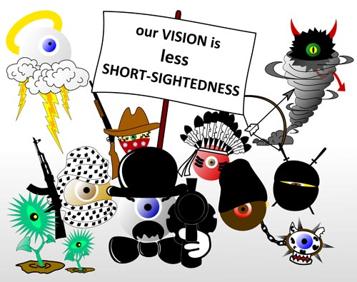 our_vision_is_less_short-sightedness