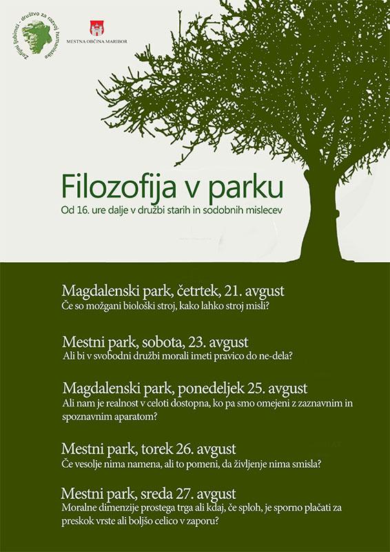 filizofija v parku min poster