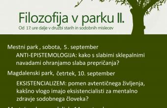 filizofija v parku min poster koncno september
