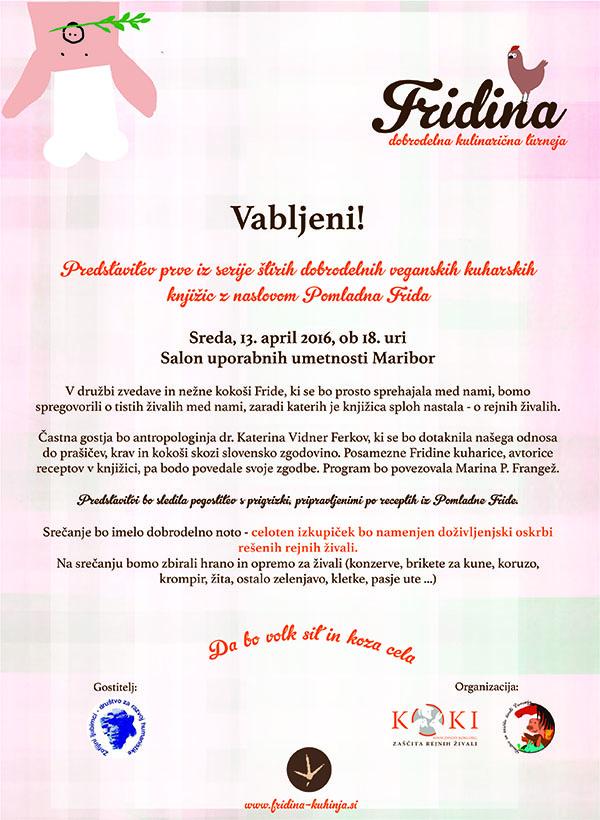 Vabilo Fridina kuhinja Maribor_mala